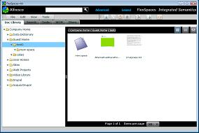 FlexSpaces 0.9 screenshot